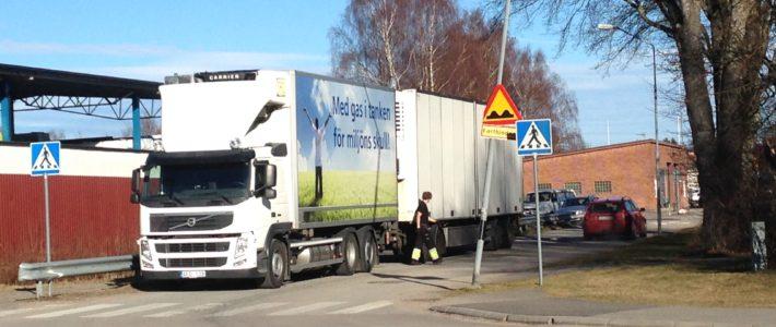 Initiative for green transports in Olofström