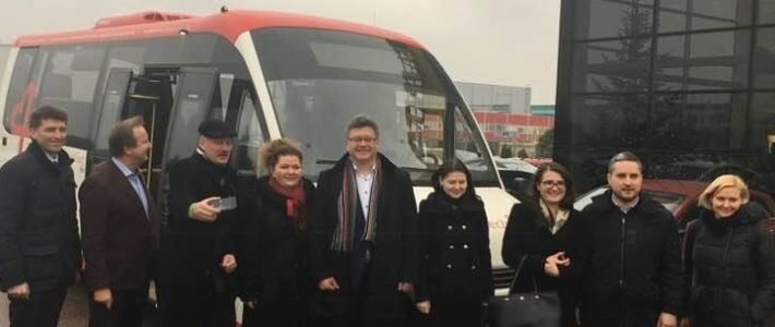 Intelligent and green city transport: study visit