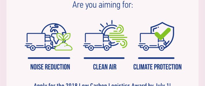 International awards are looking for agents of change in logistics