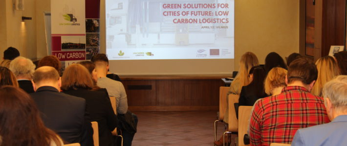 Green Solutions for Future Cities: Low carbon logistics conference