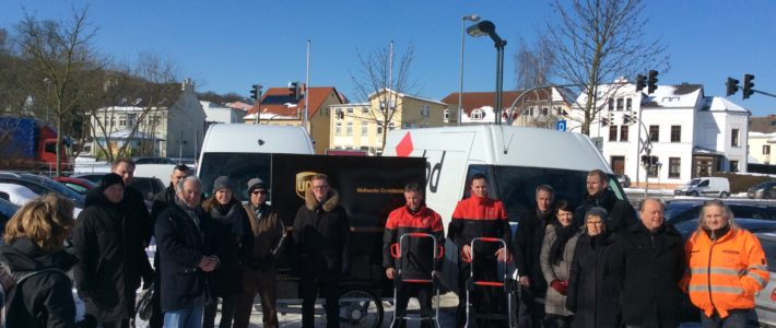 CO2-free parcel delivery in Bad Doberan has started